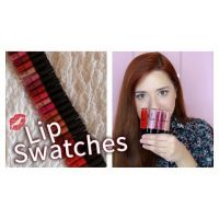 22 LIP SWATCHES | LAVISH CARE MATTE LIP GLOSS GIVEAWAY από την Miss Madden!