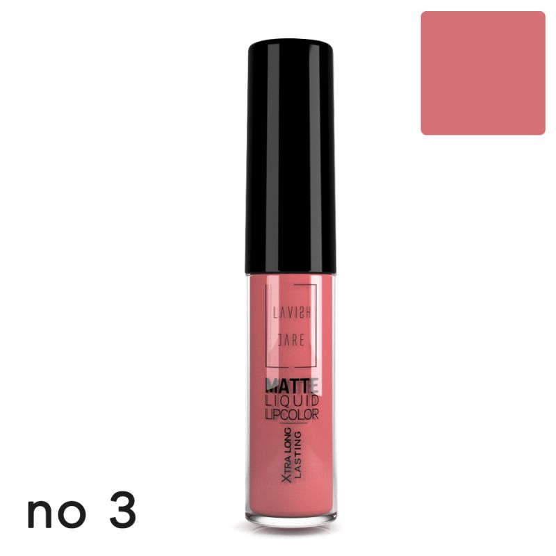 MATTE LIQUID LIPCOLOR - No 3