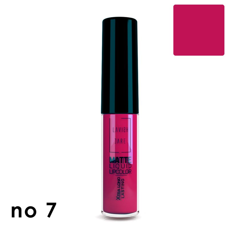 MATTE LIQUID LIPCOLOR - No 7