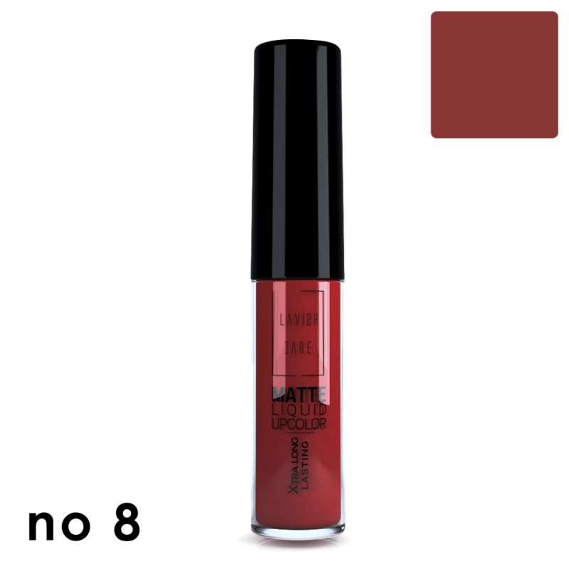 MATTE LIQUID LIPCOLOR - No 8