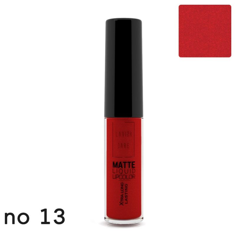 MATTE LIQUID LIPCOLOR - No 13