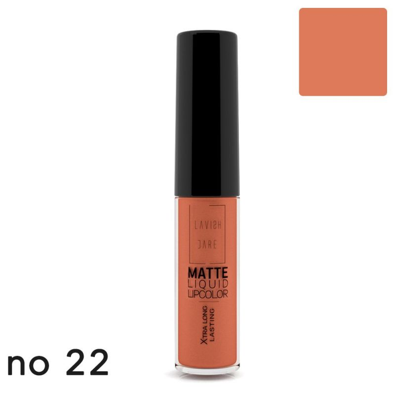 MATTE LIQUID LIPCOLOR - No 22