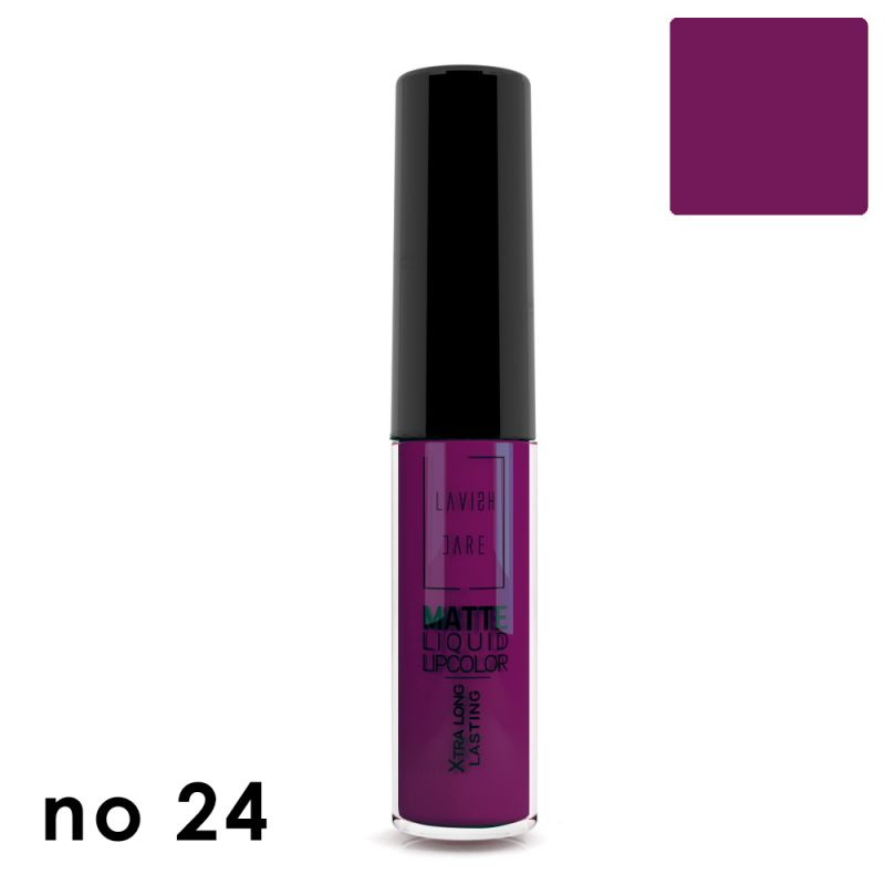 MATTE LIQUID LIPCOLOR - No 24
