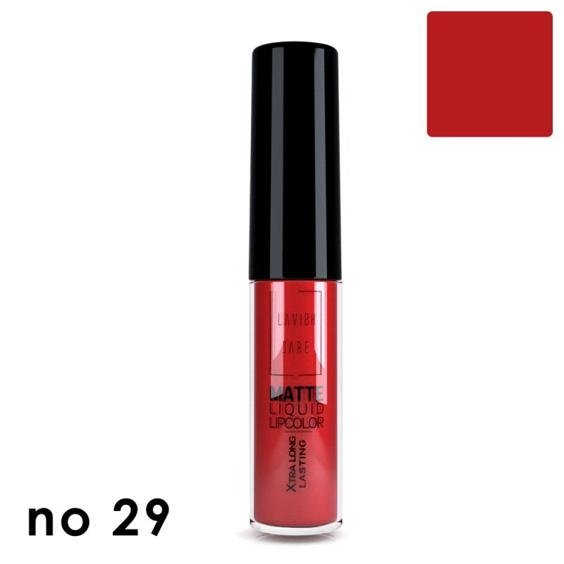 MATTE LIQUID LIPCOLOR - No 29